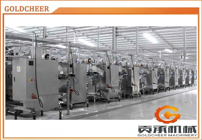 Tomato Paste Re-Packing Line