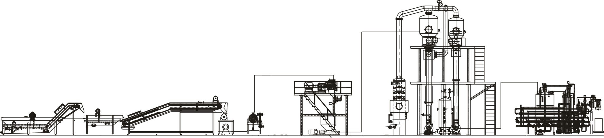 tomato processing plant layout