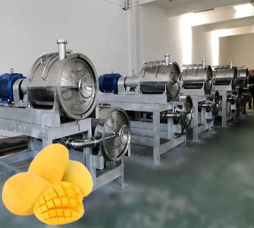 mango pulp production line