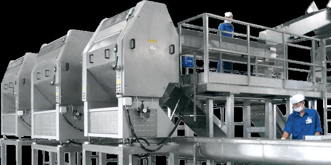 Figure 1 Fruit Processing Machine