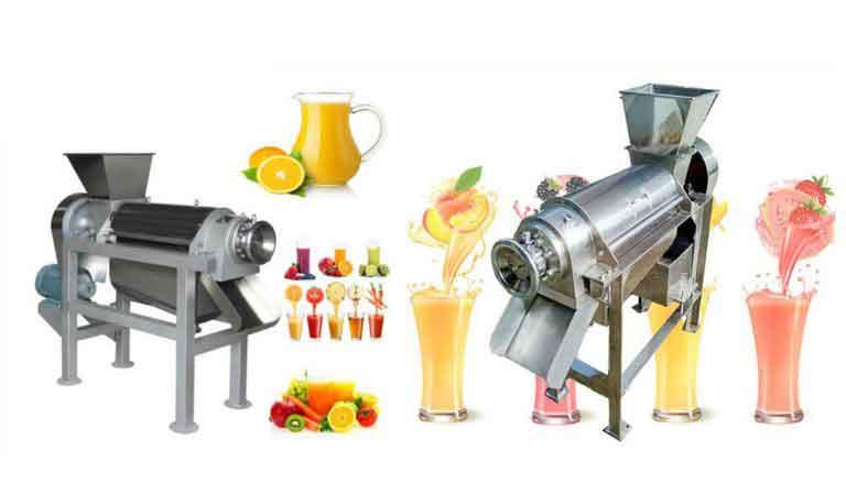 Figure 14 Juice production machine