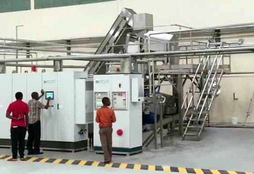 Figure 7 Fruit Processing Machine Maintenance